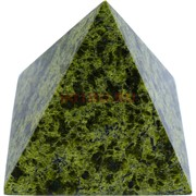 Пирамида 6 см из змеевика