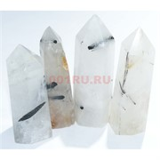 Карандаши кристаллы 7-8 см из волосатого кварца