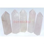 Карандаши кристаллы из розового кварца 7 см