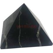 Пирамида 6 см из матового шунгита
