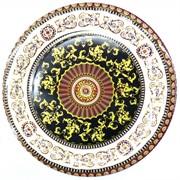 Конфетница круглая с узором 34 см