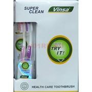 Зубная щетка Vinsa 12 шт/уп