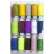 Набор цветных ниток 30 шт/уп