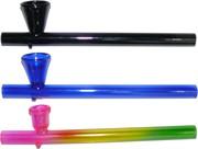Трубка стеклянная цветная 14,5 см длина