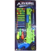 Пистолет Shoot Game с мягкими пулями и мишенью Arms