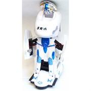 Робот-трансформер «Локомотив» SRH на батарейках