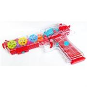 Игрушка пистолет со звуковыми и световыми эффектами Gear Light Gun