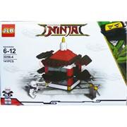 Конструкто Ninja 141 деталь (3D56-4)