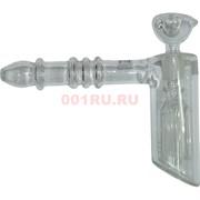 Трубка-бонг стеклянная «ТЭК» 14x16 см