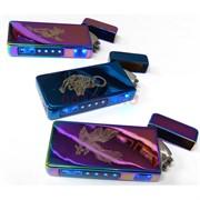 Зажигалка USB спиральная сенсорная Животные