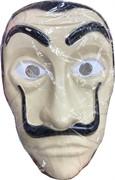 Маска Сальвадора Дали бумажный дом мужчина с усами