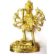 Богиня Кали фигурка из бронзы