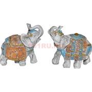 Слоны из полистоуна (KL-572) с попоной цена за 2 шт/уп