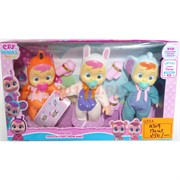 Набор кукол (10209) Cry babies 3 шт/уп 120 наборов/кор