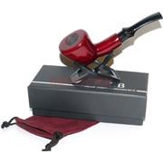 Трубка курительная ZB-001 деревянная с подставкой и чехлом