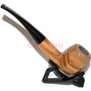 Трубка курительная ZB-008 деревянная с подставкой и чехлом