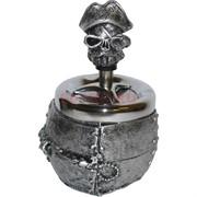 Пепельница из полистоуна «пиратская»