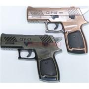 Зажигалка сувенирная Пистолет CZ P-07 тройное турбо
