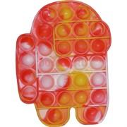 Попит антистресс игрушка пупырка «Among Us» цветная