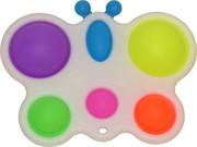 Игрушка антистресс попит «бабочка» пластмасса+силикон