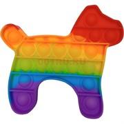 Попит антистресс силиконовая игрушка «собака»