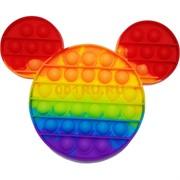 Попит игрушка «Микки Маус» радужная пупырка силиконовая