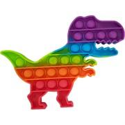 Попит игрушка «динозавр» радужная пупырка силиконовая
