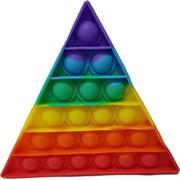 Попит антистресс пупырка «треугольник» радужная
