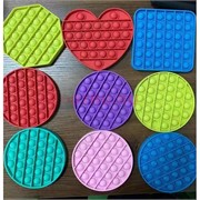 Антистрессовая игрушка Pop It круг формы и цвета в ассортименте