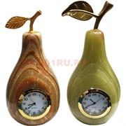 Часы из оникса Груша 14см (3х6 дюйма)