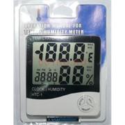 HTC-1 Термометр универсальный, гигрометр цифровой, часы