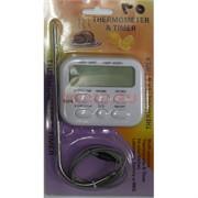 Термометр TA278 с выносным щупом для духовки гриля