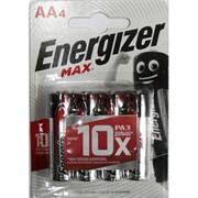 Батарейки щелочные Energizer ENR MAX AA (цена за 4 батарейки)