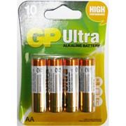 Батарейки алкалиновые GP Ultra AA (цена за 4 батареки)
