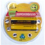 Экологическая литиевая батарейка (H-256) 5200 мАч (цена за упаковку)
