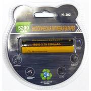 Экологическая литиевая батарейка (H-202) 5200 мАч (цена за упаковку)