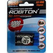 Аккумулятор Robiton 2850 мАч AAA HR03 Mignon (цена за 2 шт)