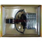Лупа налобная бинокулярная с подсветкой 2 LED (9892B)