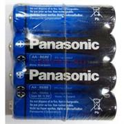 Батарейки R6BER/4P солевые (AA) цинк-карбоновые Panasonic 4 шт/уп (цена за упаковку)
