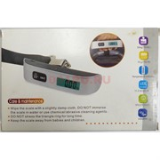 Компактные электронные весы для багажа до 50 кг
