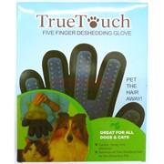 Массажная перчатка для вычесывания животных True Touch