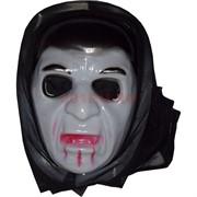 Маска Франкенштейна с тканью (накидкой)