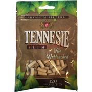 Фильтры сигаретные Tennesie Bio Unbleached 120 шт Slim