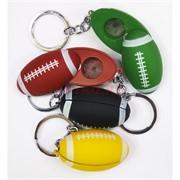 Брелок трубка «мяч для регби» цвета в ассортименте