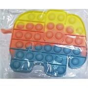 Попит пупырка «слоник» цветной силиконовая игрушка антистресс