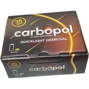 Уголь для кальянов CARBOPOL 35 мм древесный (100таблеток)