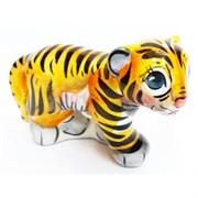 Фигурка Боб цветная гжель тигр Символ 2022 года