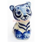 Фигурка Чарли синяя гжель тигр Символ 2022 года