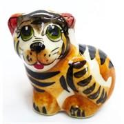 Фигурка Марсик цветная гжель тигр Символ 2022 года