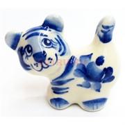 Фигурка Буба синяя гжель тигр Символ 2022 года